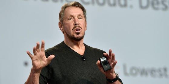 Larry Ellison, Gründer des Softwarekonzerns Oracle, hat einen Deal mit TikTok geschlossen