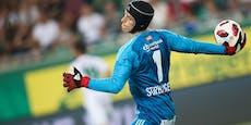 Rapid-Goalie Strebinger spricht über Auszeit-Gerüchte