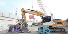 U2/ U5: So läuft die Baustelle beim Rathaus ab
