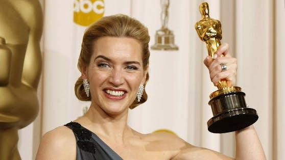 """""""Titanic""""-Star Kate Winslet ist nicht nur stolze Oscarpreisträgerin, sondern stellt bei ihrer Arbeit auch mal ganz schnell einen neuen Rekord auf."""