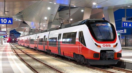 Die Person fuhr von Graz nach Wien mit einem Zug der ÖBB.