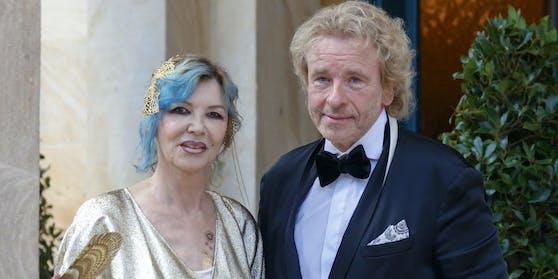 Thomas Gottschalk und Ehefrau Thea bei den Bayreuther Festspielen im Juli 2018: Die beiden waren 47 Jahren verheiratet.