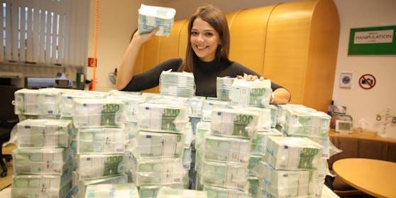 Ein Spieler darf sich auf über 5 Millionen Euro freuen.