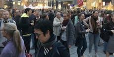 Donnerstagsdemo sorgt für Chaos in Wiener City