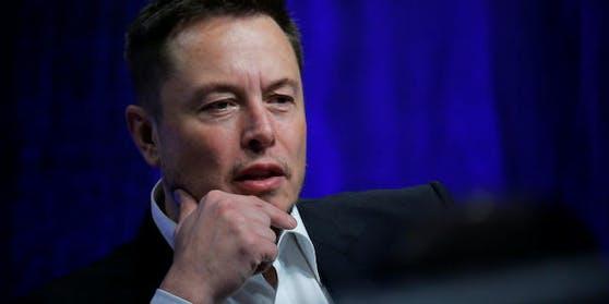 Elon Musk, der Chef von Tesla Motors