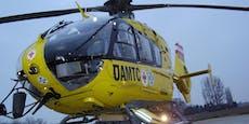 15-Jähriger nach Motocross-Unfall ins Spital geflogen