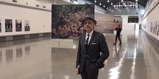 Kunst-Experte Gerald Matt hat einige Forderungen an die neue Kulturstaatssekretärin. (hier als Kurator der Spencer-Tunick-Retrospektive in Palermo)