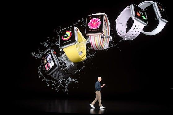 Die neue Generation der Apple Watch kann auch Corona erkennen.