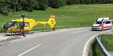 Drei Motorräder in Frontal-Crash involviert