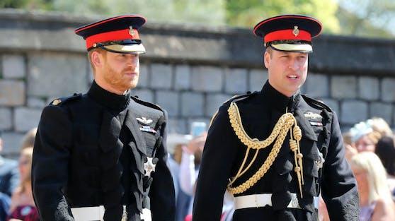 Prinz Harry und Prinz William werden am kommenden Wochenende ihrem Großvater Prinz Philip auf Schloss Windsor die letzte Ehre erweisen.