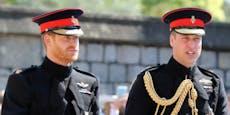 Harry zurück in London, kein Kontakt zu William