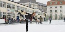 Eislauf-Spaß in Wien wird von Lockdown beendet