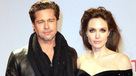 Das einstige Hollywood-Traumpaar Brad Pitt und Angelina Jolie im Jahr 2010.