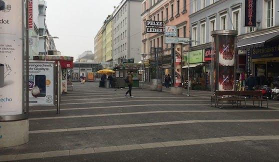 Die Polizei schritt bei einer gefährlichen Drohung auf der Favoritenstraße ein.