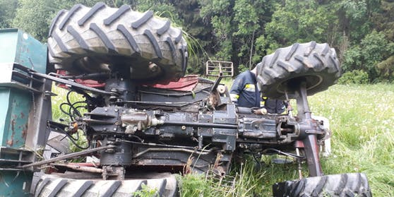 Das Bild stammt von einem ähnlichen Unfall in Kärnten.