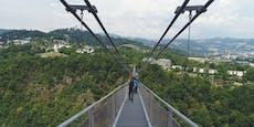 Hängebrücke für Linz hängt nicht mehr in der Luft