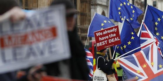 Brexit: Großbritannien hat die EU bereits Anfang des Jahres verlassen. Bis Ende des Jahres gilt aber noch eine Übergangsfrist.