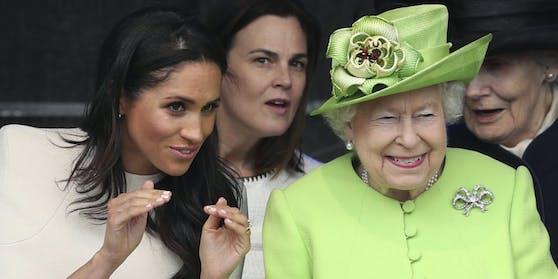 Im TV-Interview erinnert sich Herzogin Meghan an ihr Verhältnis zuQueen Elizabeth II.