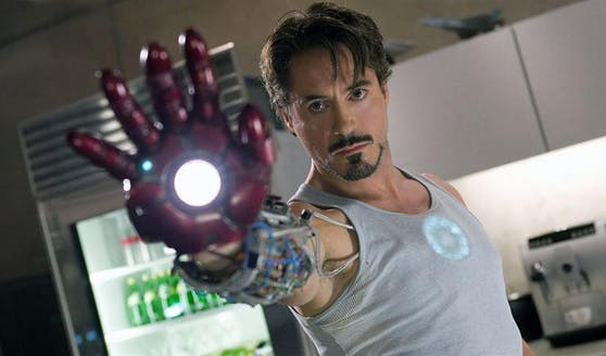 "Robert Downey Jr. in ""Iron Man"""
