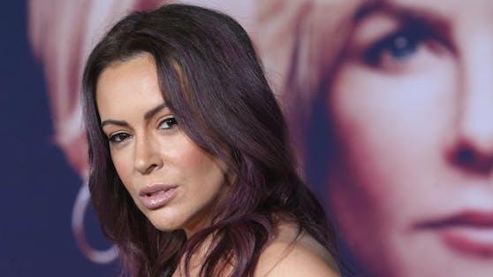 """Schauspielerin Alyssa Milano ist entsetzt: Für sie ist der Trump-Sturm auf das Kapitol eindeutig ein """"Staatsstreichversuch""""."""