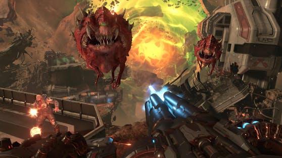 Mit Doom Eternal legt id Software einen zünftigen Nachfolger zu Doom (2016) vor. Größer, weiter, komplexer ist das Konzept.