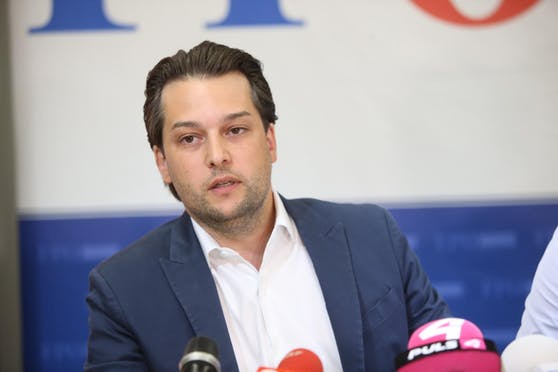 Dominik Nepp ist der Nachfolger von Heinz-Christian Strache an der Spitze der Wiener FPÖ.