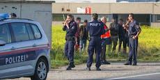 Polizei greift 23 Flüchtlinge im Mittelburgenland auf