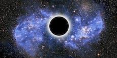 Nackte Schwarze Löcher verstecken sich im Universum