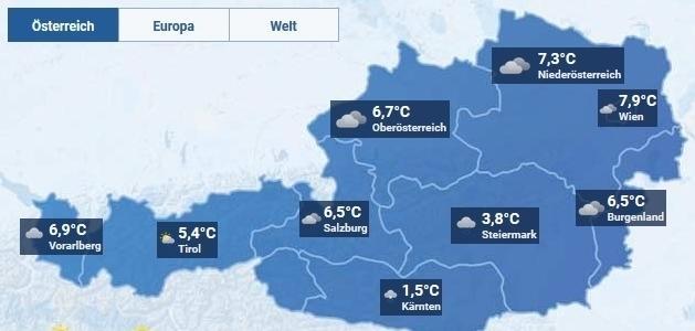 Wetter In Den Nächsten Tagen