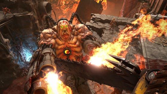 Mit Doom Eternal legte die Software einen zünftigen Nachfolger zu Doom (2016) vor. Größer, weiter, komplexer ist das Konzept.