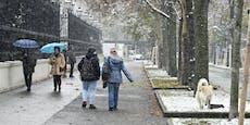 Bis zu minus 25 Grad! Kälte-Sturz friert Österreich ein