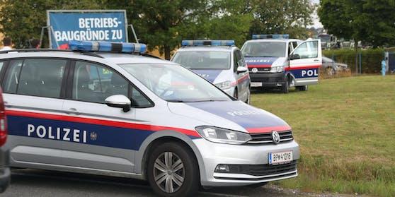 Polizei-Großeinsatz nach Überfall auf Trafik in Salzburg-Itzling (Symbolfoto)