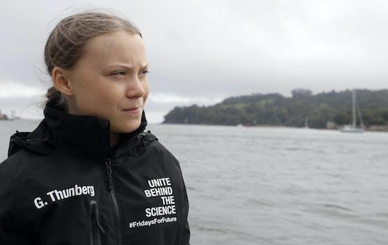 Greta Thunberg segelt über den Atlantik.