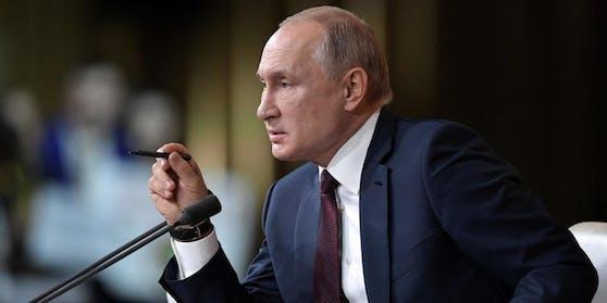 Putin warnte den Westen davor, sich in russische Angelegenheiten einzumischen.