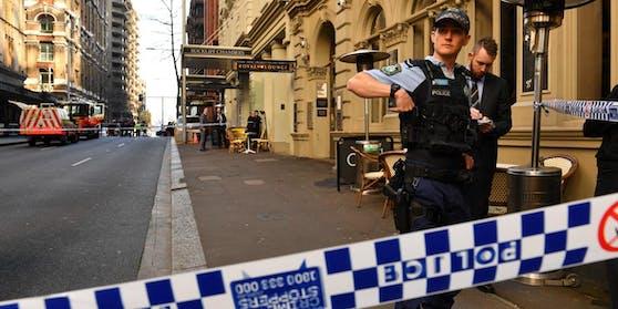 Australische Polizei in Sydney (Symbolbild)