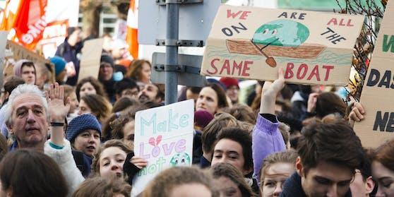 Fridays for Future-Demonstrationen gehören mittlerweile fast schon zum Stadtbild.