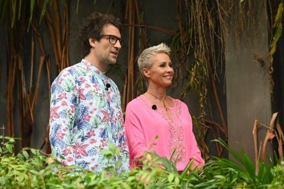 Daniel Hartwich und Sonja Zietlow freuen sich auf die Dschungelprüfung an Tag 9.