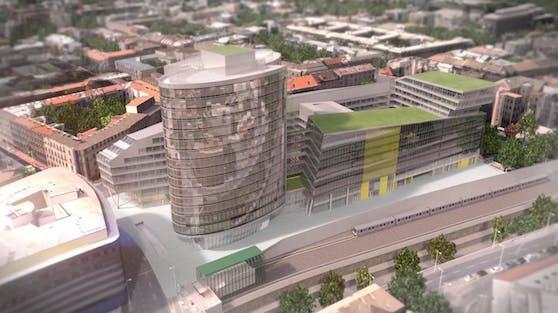 """""""Vio Plaza"""" wird nun gebaut, es soll Wohnungen und ein Shoppingcenter beherbergen."""