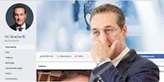 Riesen-Strafe für FPÖ wegen Straches Facebook-Seite