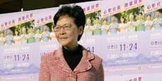 """Hongkongs Regierungschefin will """"China-Gesetz"""""""