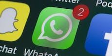 WhatsApp, Facebook und Co. teilweise ausgefallen