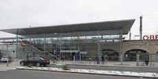 Massenschlägerei mit Messern am Bahnhof in Baden