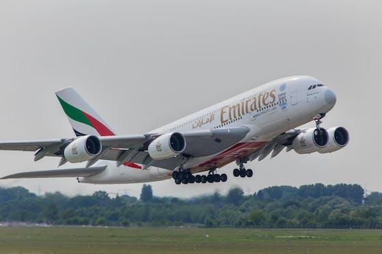 Platz 1: Die arabische Airline Emirates war 2019 die sicherste Airline der Welt.