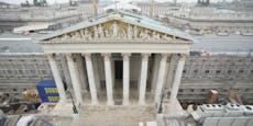 Parlaments-Sanierung wird teurer als geplant