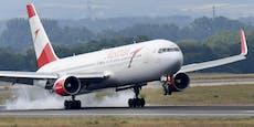 Corona-Alarm an Bord von AUA-Flieger nach Nizza