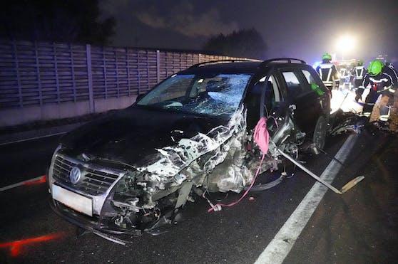 Fahndung nach Unfall mit Fahrerflucht.