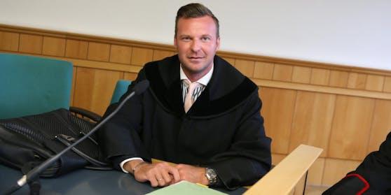 Anwalt Philipp Wolm verteidigte.