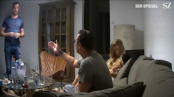 Strache und Gudenus im Ibiza-Skandal: H. soll die Aufnahmen eingefädelt haben.