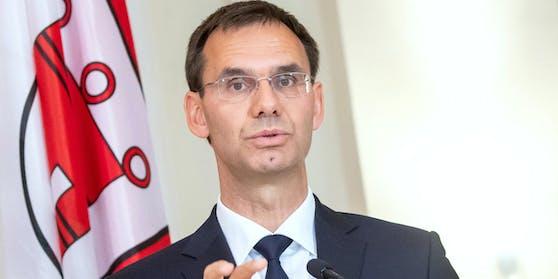Vorarlbergs Landeshauptmann Markus Wallner