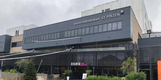 Symbolfoto des Uniklinikums in St. Pölten